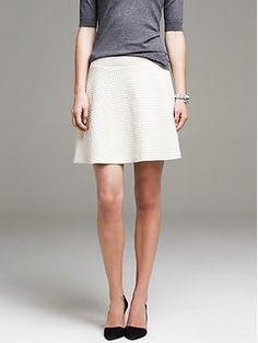 Quilted Full Skirt | Banana Republic $79.50