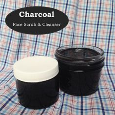 This charcoal face scrub & cleanser is sure to give you glowing skin that's just as radiant as you are!
