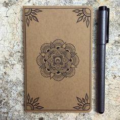 Small hand-embellished Moleskine Notebook www.irukandjidesigns.bigcartel.com Anoushka Irukandji 2015