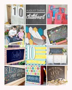 10 fabulous chalkboard projects from 10 fabulous creative bloggers!