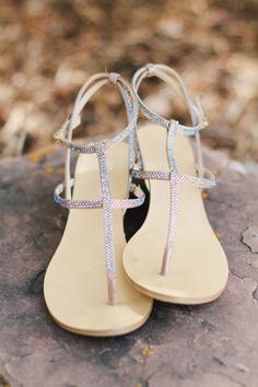 Jeweled flats: http://www.stylemepretty.com/2015/09/21/beautifully-bohemian-northwest-wedding-details/