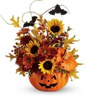 Teleflora's Trick  Treat Bouquet Flowers, union members save 20% here!  http://www.teleflora.com/unionplus