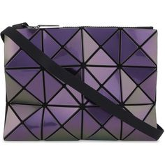 Bao Bao Issey Miyake Lucent iridescent cross-body bag ( 335) ❤ liked on  Polyvore featuring bags 5351bb6c92533