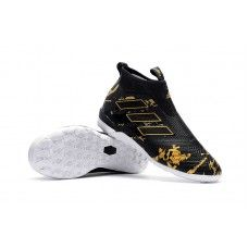 half off ce442 17a9f Adidas ACE Tango 17+ Purecontrol Paul Pogba Capsule IC Soccer Cleats -  BlackGold