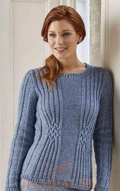 Пуловер «Selma» от дизайнера Pat Menchini, пуловер спицами