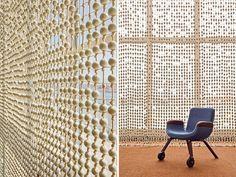 hella jongerius + rem koolhaas: UN north delegates' lounge - designboom | architecture & design magazine
