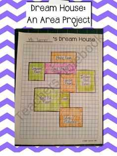 Dream House: A FREE Additive Area Project (Common Core Aligned) from Blair Turner on TeachersNotebook.com (2 pages)