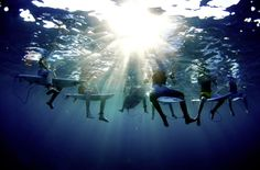 Morgan Maassen's photo of surfers in Tavarua, Fiji
