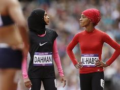 womens rights in islam essay World of Islam in Picture: Muslim olympic girls Arab Fashion, Muslim Fashion, Sport Fashion, Beautiful Muslim Women, Beautiful Hijab, Turban, Muslim Images, Sports Hijab, Muslim Hijab