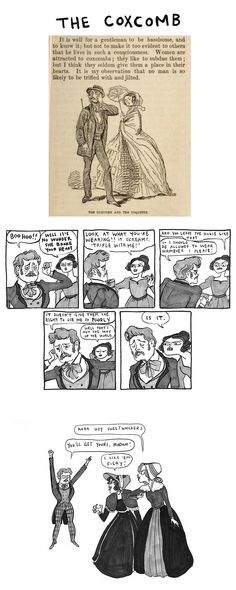 """it is well for a gentleman to be handsome and to know it..."" #harkavagrant @beatonna"