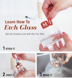 16 Ways to Use Etching Cream
