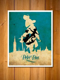 Peter Pan 8 X 10 Poster by posterexplosion on Etsy, $8.00
