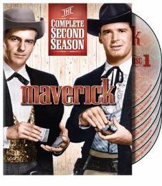 Amazon.com: Maverick: The Complete Second Season: James Garner, Jack Kelly, Richard Long, Leo Gordon, Roy Huggins, William L. Stuart, Coles Trapnell, William T. Orr: Movies & TV