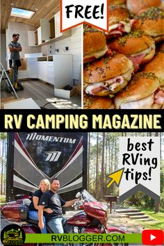 Enjoy all things RV camping with our RV Camping Magazine! Get access to the best camping info, deals, discounts, and tips, all for free. Check out the issues here - click to explore. Rv Magazine, Camping Magazine, Camping Meals, Camping Hacks, Camping Recipes, Camping For Beginners, Rv Organization, Diy Rv, Diy Camper
