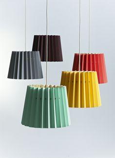 Designerleuchten lampenshirme mint zitrone himbeere