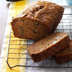 Apple Zucchini Bread Recipe -Since apples and zucchini are so abundant in this area, it's only natural that the two be used together in one recipe. I really don't know the origin of this bread, but I do know it's been one of my favorites for many years. —Patti Dillingham, Scranton, Arkansas