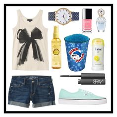 """""""#99 hot days"""" by xjet1998x ❤ liked on Polyvore featuring Sun Bum, Aéropostale, Vans, Topshop, NARS Cosmetics and Marc Jacobs"""