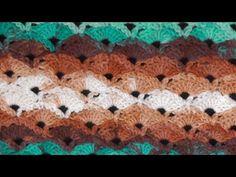 Meladoras Creations   Diagonal Shells Crochet Stitch Tutorial