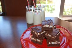 Rocky Road Brownies - thick and fudge with ooey gooey marshmallow and perfect chocolate fudge frosting.  Yum!