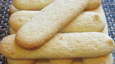 Watch how to make savoiardi (lady fingers) at home! Italian Cookie Recipes, Italian Cookies, Fig Cookies, Chocolate Chip Cookies, Tiramisu Recipe, Lady Fingers, Special Recipes, Baking Tips, Popular Recipes