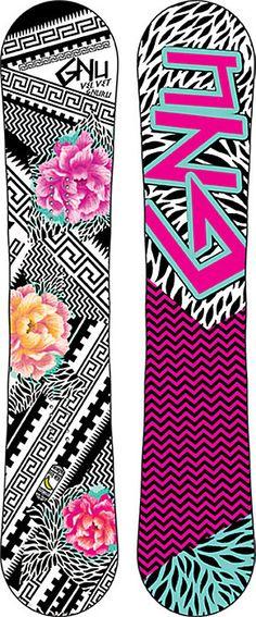 Gnu Velvet Gnuru Snowboard - Women's