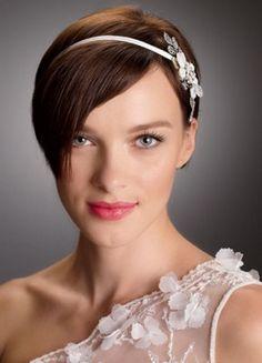 Image result for peinados novia pelo corto