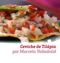 Uma opção leve e saudável, perfeita para os dias quentes, esse Ceviche de Tilápia é uma ótima escolha.