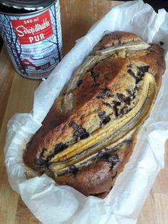 Banana bread au sirop dérable et pépites de chocolat Best Banana Bread, Banana Bread Recipes, Fraisier Recipe, Naan Recipe, Burger Buns, Strawberry Cakes, Eat Smart, Breakfast Dessert, Easter Recipes