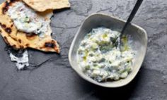 Turkish Cucumber Yogurt Dip - If you're a fan of the magical Greek Tzatziki, this recipe for Turkish Cacik is going to be your kind of thing. A refreshing dip that takes 15 minutes to make from scratch, it has mint instead of oregano. Impress yourself, your friends, or your office party with easy deliciousness. If you TRULY want a magical snack, pair it with the flatbread from #3 on this list.