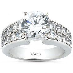 2.96 Ct.Diamond Engagement Ring cha ching