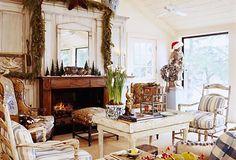 Vintage Christmas at home