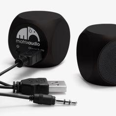 Qube Mini Speaker by Matrix Audio | MONOQI
