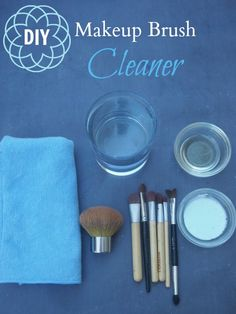 I just cleaned then and I will definitely be doing this once a week !!   How to Clean Makeup Brushes: Simple DIY Formula - Stuff Parents Need