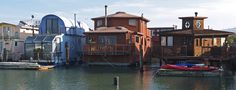 Houseboats in Sausalito | by Jesse Varner