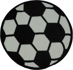 Soccerball Fun Time Shape Collection multi-colorFeatures: Size: 39RD in. Material: 100% Nylon