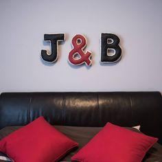letter pillows #bedroom #letterart #knit #crochet #vegan #leather Letter Art, Joyful, Accent Pillows, Vegan Leather, Color Combinations, Decorative Pillows, Knit Crochet, Shapes, Lettering