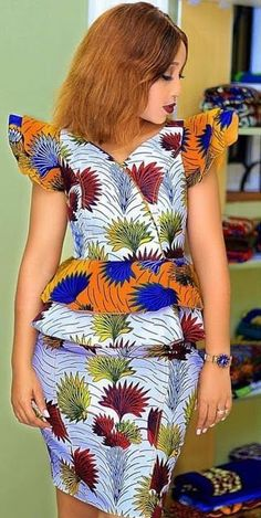 Volume Career: New Amazing and Stunning Traditional Dresses 2019 That Trends For Divas African Wear, African Attire, African Fashion Dresses, African Dress, African Outfits, African Style, Ankara Fashion, African Design, African Women