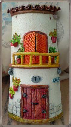 Teja rústica                                                                                                                                                                                 Más Decorative Tile, Decorative Boxes, Hobbies And Crafts, Diy And Crafts, Diy Y Manualidades, Play Clay, All Craft, Simple Art, Clay Art