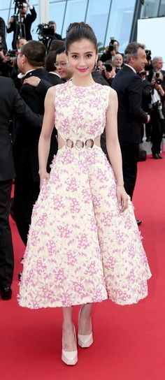 Angelababy in Christian Dior