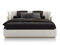 Upholstered double bed ALLURE L by Capital Collection Upholstered double bed ALLURE L by Capital Collection Bedding Master Bedroom, King Bedding Sets, Luxury Bedding Sets, Gray Bedding, Queen Bedding, Boho Bedding, Modern Bedding, Cozy Bedroom, Modern Bedroom Design