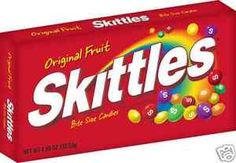 Skittles Original Candy 4 Oz Theater Candy Pack