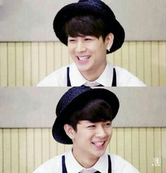 Can't wait to see your smile as wide as this when YG announce your name as part of iKon. ☺️ #yunhyeong
