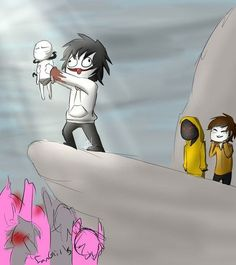 Image discovered by N Find images and videos about lol, hoodie and creepypasta on We Heart It - the app to get lost in what you love. Creepy Pasta Funny, Creepy Pasta Family, Jeff The Killer, Familia Creepy Pasta, Creepypasta Slenderman, Hoodie Creepypasta, Lazari Creepypasta, Clockwork Creepypasta, Creepypasta Wallpaper