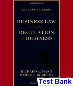 Download solution manual for financial and managerial accounting 6th business law and the regulation of business 11th edition mann test bank test bank fandeluxe Image collections