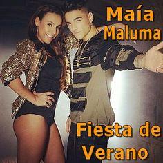Acordes D Canciones: Maia - Fiesta de Verano ft. Maluma