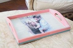 Mother's Day Photo Transfer Wood Tray