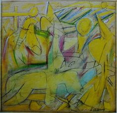 Willem De Kooning (1904-1997) Untitled (Study for Backdrop), 1945
