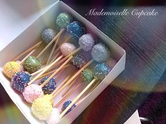 Pop Cakes Mademoiselle Cupcake, Cakes, Pop, Desserts, Food Porn, Tailgate Desserts, Popular, Deserts, Cake Makers