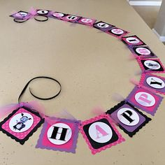 55 Ideas birthday banner diy first for 2019 Diy Birthday Banner, Happy Birthday Name, Third Birthday, 4th Birthday Parties, Happy Birthday Banners, Birthday Fun, Birthday Party Decorations, Birthday Invitations, Food Banner