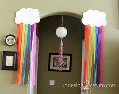 Rainbow Unicorn Party Decorations - Jonesing2Create